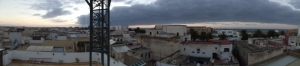 View from the SIT Roof in Rabat