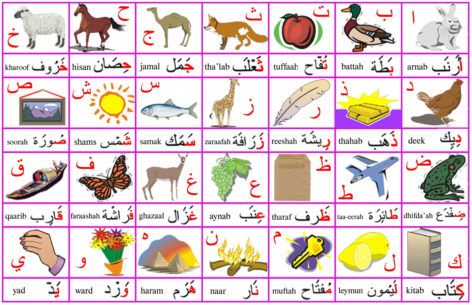 Learn Arabic - Lesson 2: Food (I) | L-Lingo