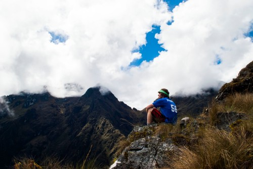 Michael exploring the Inca Trail