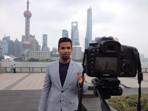 Alex Montoya in China