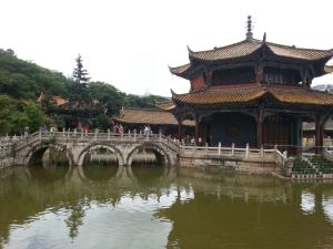He also took me to a temple near Yunnan University, the college that I have my classes in.