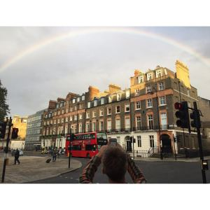 So far, London has been a rainbow of joy.