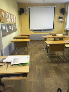 The classroom where the English lessons take place and subsequently where students build their foundation as future leaders.