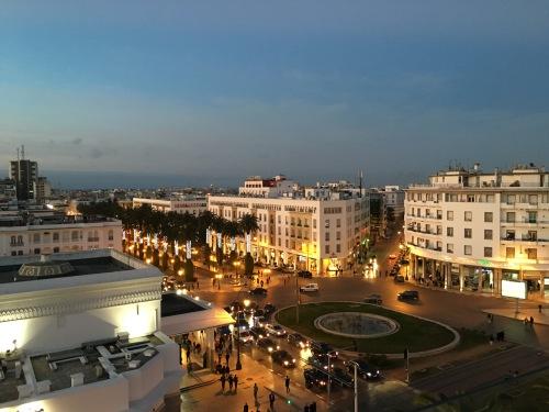 Hotel Terminus view