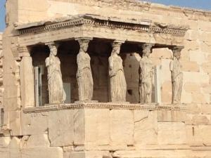 View of the Parthenon