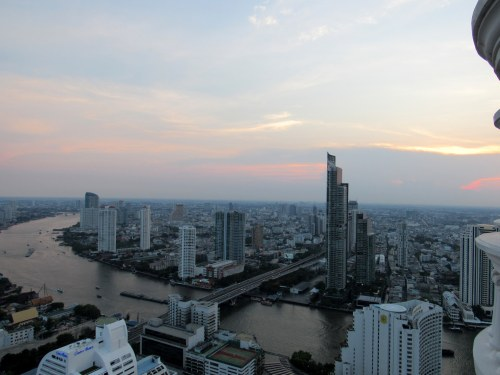 Bangkok views. The people I meet and everything I learned are going to follow me forever.
