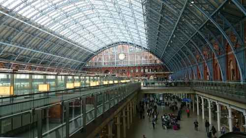 St Pancras International Rail Station