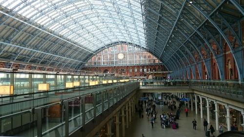 St Pancras International Rail Station