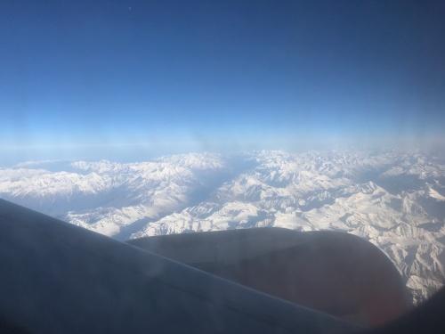 Landing In Leh, India