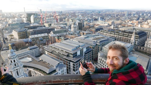 from the top of St Paul's
