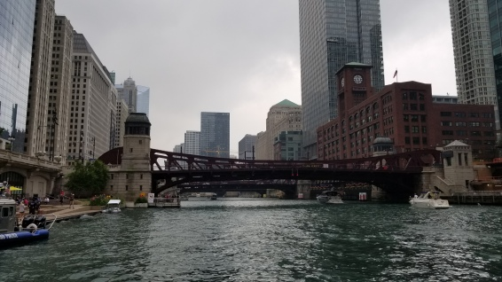 On a walk in the windy city...the city by the lake...Chicago.